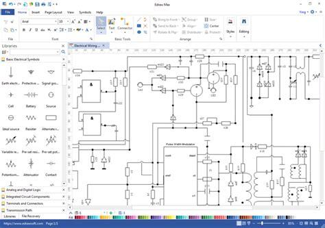 schematics maker circuit diagram schematic design engineering symbols