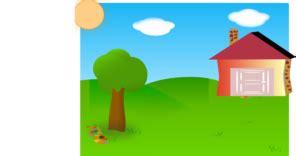 backyard clip art clker vector clip art online