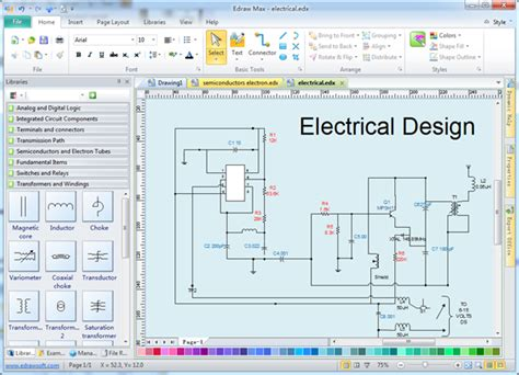 Electrical Wiring Diagram Design Software.html