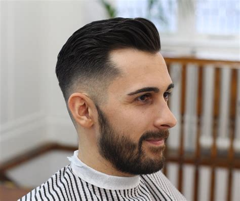 men haircuts hairstyles receding hairline