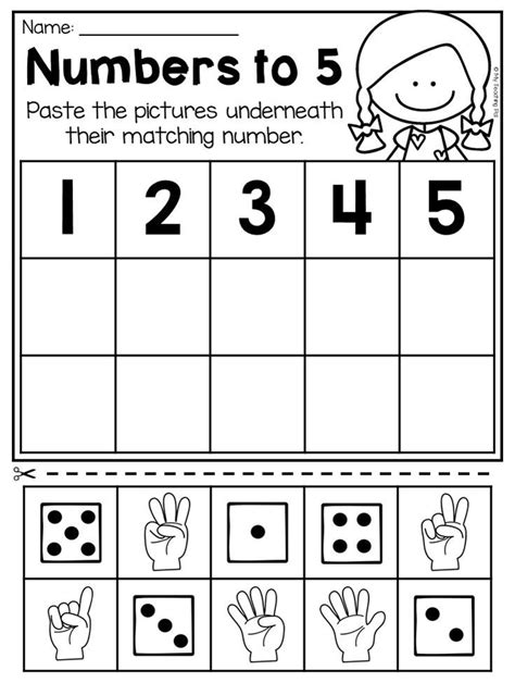 kindergarten numbers 20 worksheet pack distance learning numbers