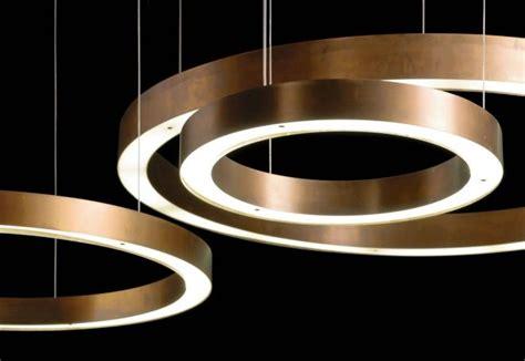 light ring horizontal henge massimo castagna lade sospensione