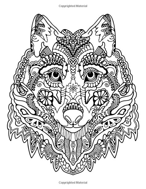 awesome animals stress management coloring book