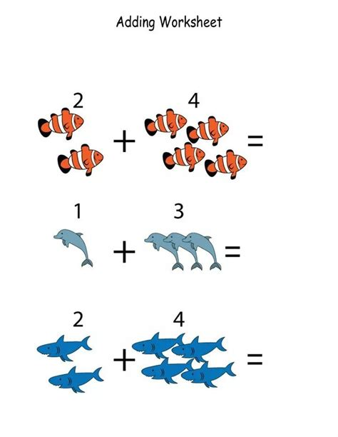 kindergarten math worksheets funnycrafts toplama çıkarma pinterest kindergarten