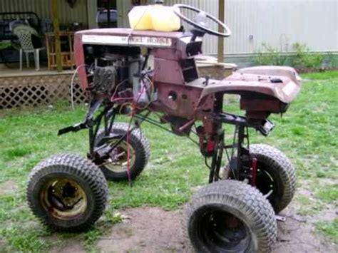 wheelhorse monster mower 001v youtube