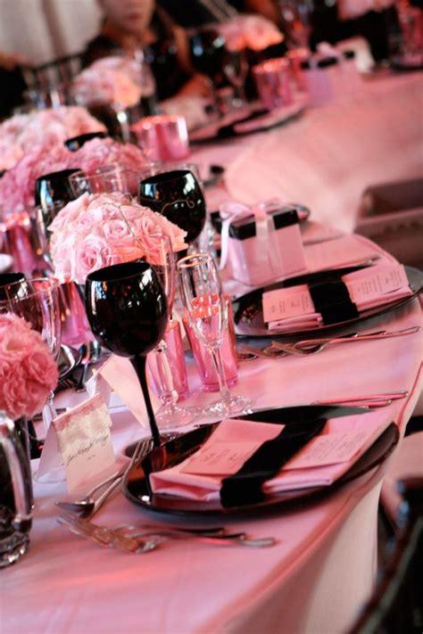 gallery home pink black weddings wedding colors wedding