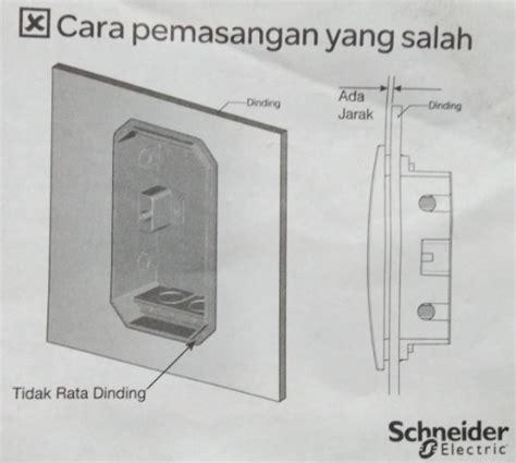 box mcb estetika pembagian jalur listrik rumah listrik