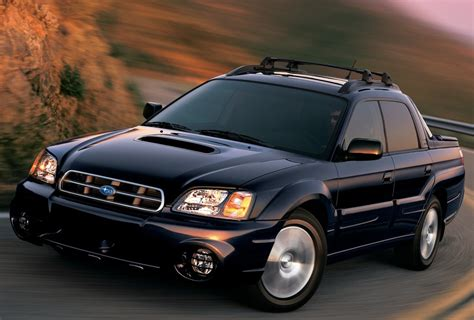 subaru baja specs photos 2003 2004 2005 2006