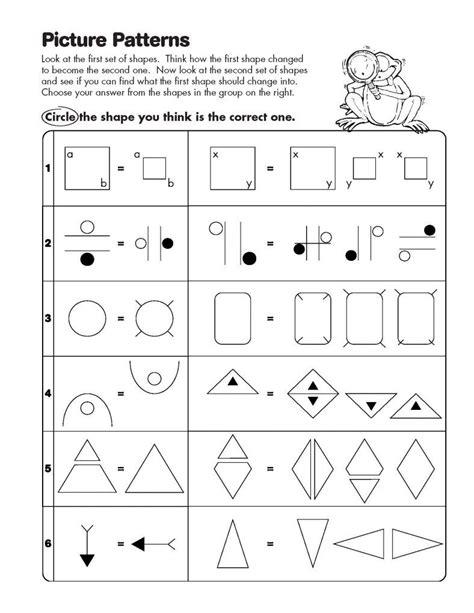 math analogies worksheets kindergarten math worksheets grade math