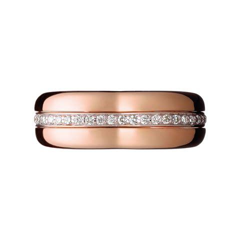 links london love note rose gold diamond ring