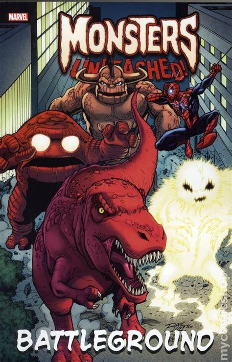 monsters unleashed battleground tpb 2017 marvel comic books