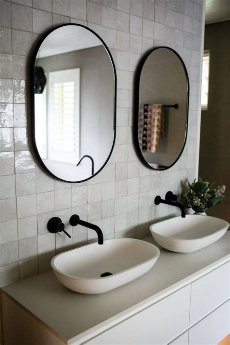bjorn oval print decor art mirrors frames bathroom