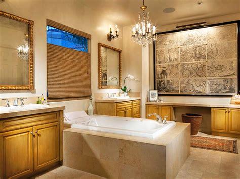 20 luxurious bathrooms elegant chandelier lighting