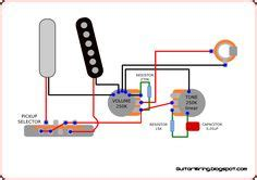 standard stratocaster wiring diagram electronics pinterest electric guitars
