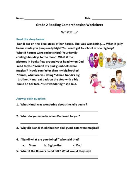 2nd grade reading worksheets 2nd grade reading worksheets