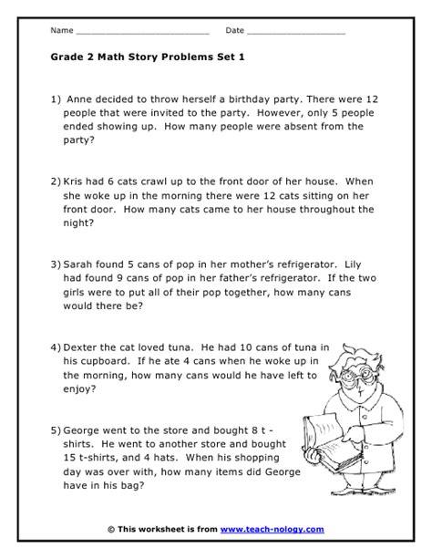grade 2 word problems set 1