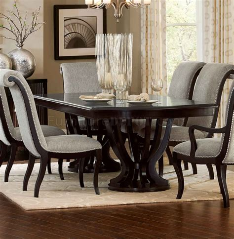 savion dining table 5494 106 espresso homelegance options