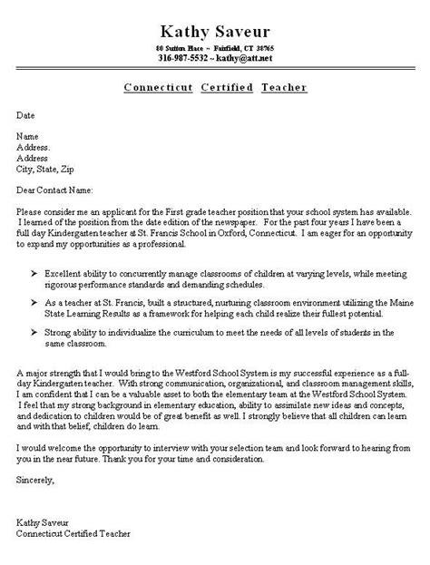 13 teacher cover letters images pinterest