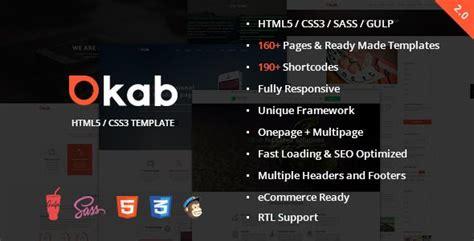 okab responsive multi purpose html5 template templates website