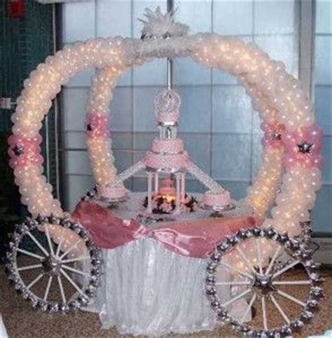 quinceanera decorations princess theme party ideas balloon creations