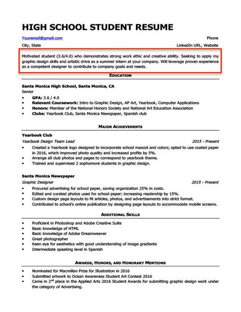 resume objective exles students professionals rc