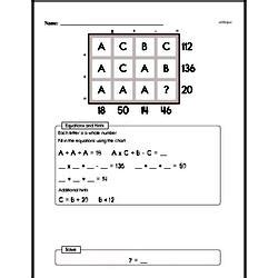 free grade enrichment worksheets edhelper