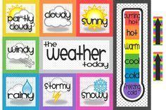 20 weather chart school images preschool weather weather