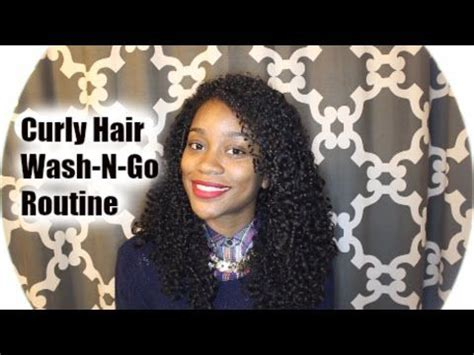 excellent curly hair wash routine ebony curly tv