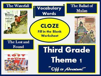 houghton mifflin reading 3rd grade theme 1 worksheets