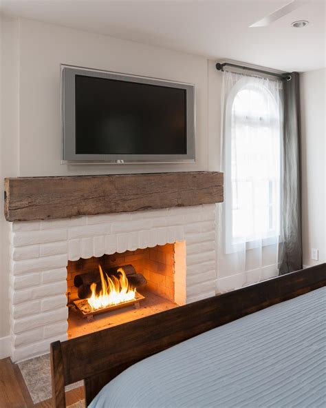 15 gorgeous painted brick fireplaces hgtv decorating