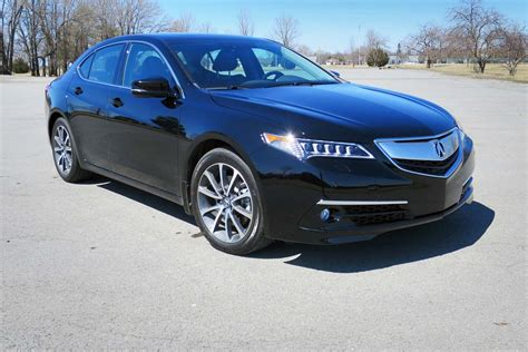 test drive 2016 acura tlx sh awd elite