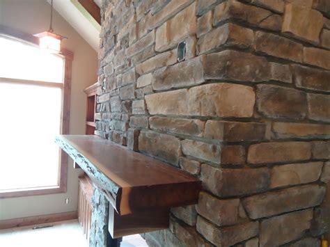 black walnut mantle mounted fireplace ideas