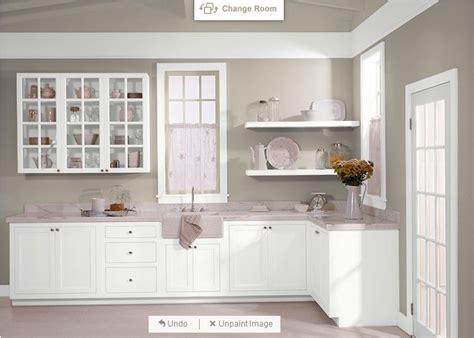 behr castle path pure white cabinets behr 730c
