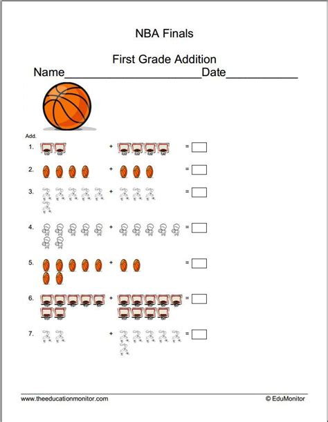 free printable educational materials learning worksheets 1st grade