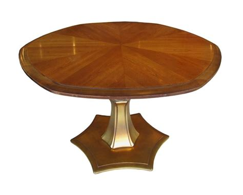 adjustable mahogany gold coffee dining table 1stdibs