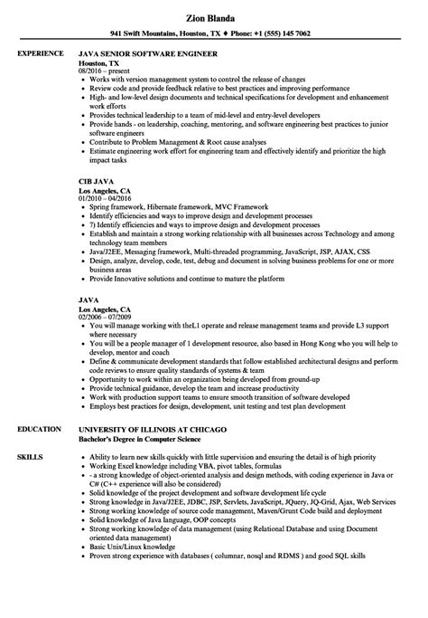 api architect sle resume june 2020
