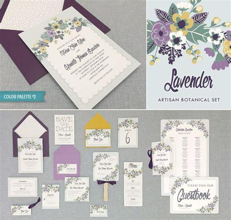 floral sprays vintage vibe invitation suite printable wedding