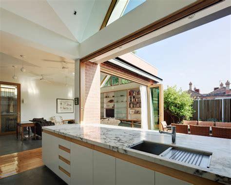 indoor outdoor kitchen designs houzz
