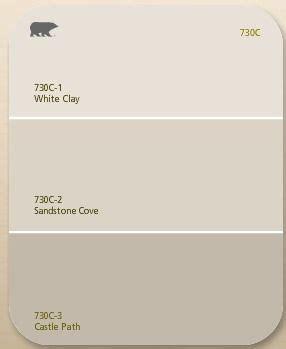 behr white clay sandstone colors neutrals