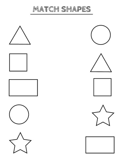 free printable shapes worksheets toddlers preschoolers shape worksheets