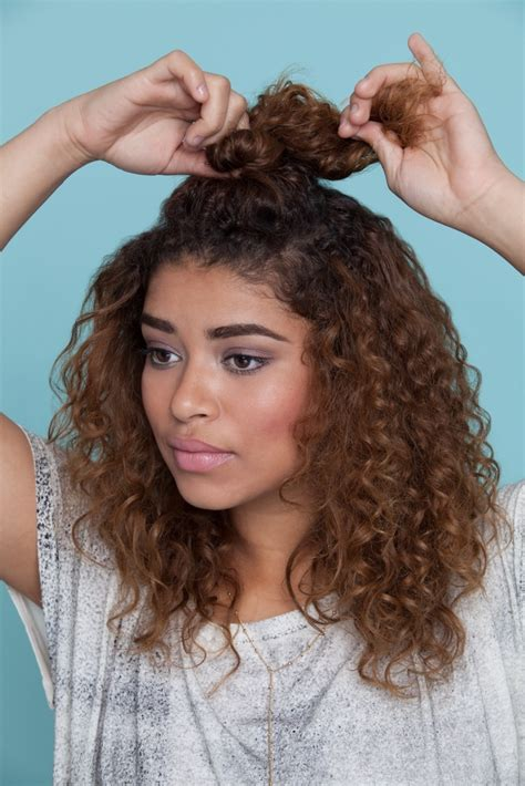 3 easy hairstyles curly hair perfect school