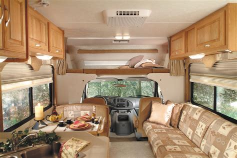 motorhome interior monty rv cing pictures