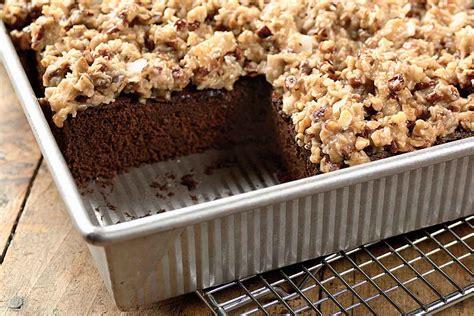 german chocolate sheet cake recipe king arthur flour