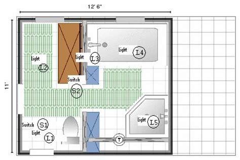 bathroom wiring diagram