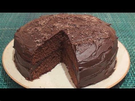 chocolate fudge cake recipe youtube
