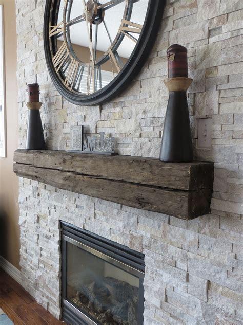 beautiful stone veneer surround gas fireplace