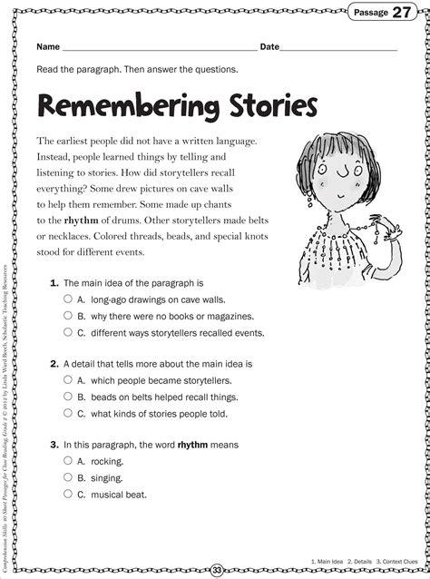 grade 2 reading passages memarchoapraga free reading comprehension