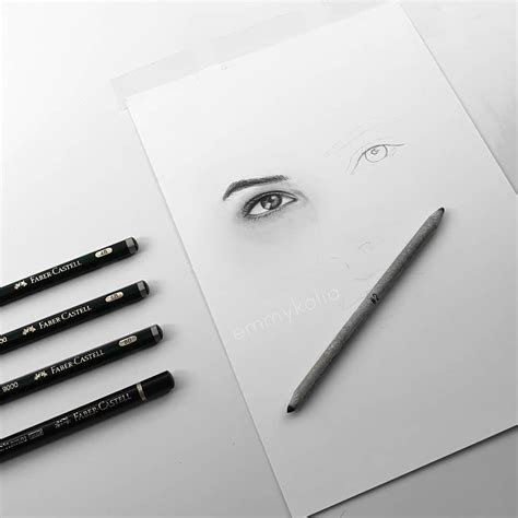 officialy missed pencils fabercastell bristolpaper graphite drawings