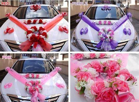 bridal wedding car decorations wedding car bridal car