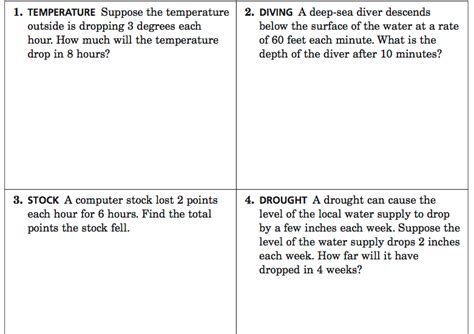 integer word problems challenging practice questions library learning